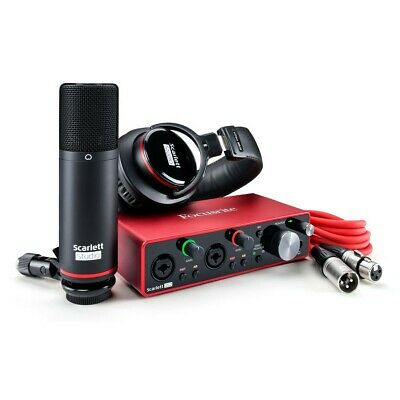Focusrite Scarlett 2i2 Studio (3rd Gen) Audio Interface • 242£