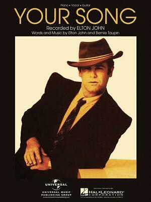 Your Song  Piano, Vocal and Guitar Elton John_Bernie Taupin Book Only HL00355875