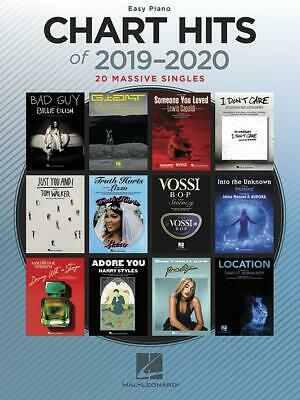 Chart Hits Of 2019-2020  20 Massive Singles Easy Piano  Book Only HL00334723 • 12.50£