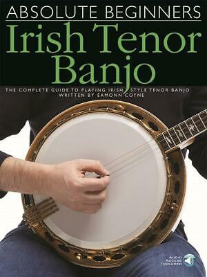 Absolute Beginners: Irish Tenor Banjo  Banjo  Book With Audio-Online MUSAM998734 • 9.70£