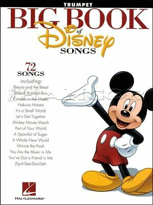 Big Book Of Disney Songs Trumpet Sheet Music Book 72 Tunes SAME DAY DISPATCH • 9.64£