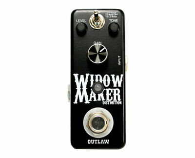 Outlaw Effects Widow Maker Metal Distortion Pedal • 42.14£
