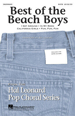 Best of the Beach Boys  SATB  Choral Score HL08200669