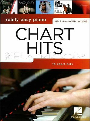 Really Easy Piano Chart Hits 9 Autumn/Winter 2019 Music Book SAME DAY DISPATCH • 7.99£