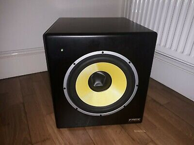 Ave Fusion10s Powered Studio Monitor Subwoofer • 100£