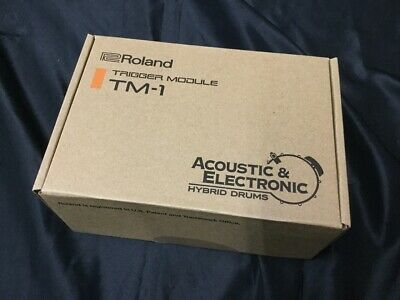 Roland TM-1 TRIGGER MODULE From Japan Shipped By DHL • 199.06£