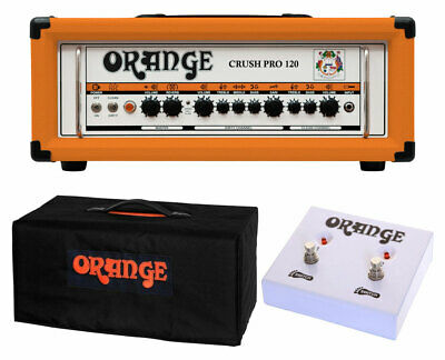 Orange Amplifiers Crush Pro CR120H + Cover + Dual Function Footswitch • 384.25£