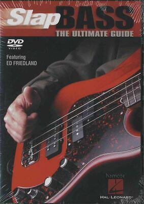 Slap Bass Guitar Ultimate Guide Learn How to Play Tuition DVD Ed Friedland