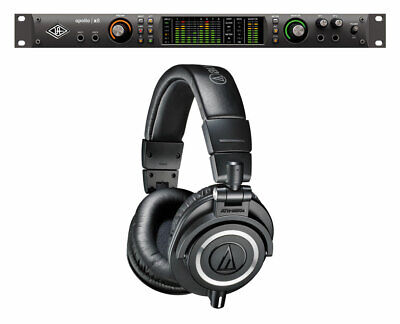 Universal Audio Apollo X8 Thunderbolt 3 Audio Interface+ Audio-Technica ATH-M50X • 2,124.44£