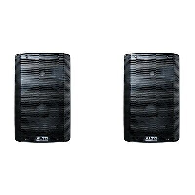 ALTO TX210 Active Powered PA DJ Speakers PAIR New Boxed • 258£