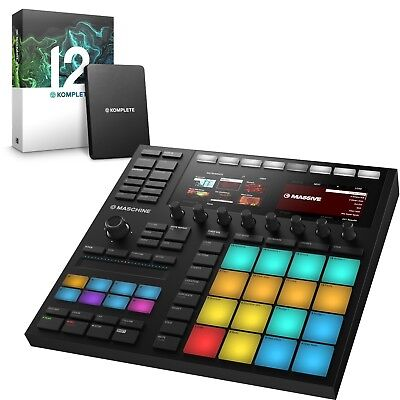 Native Instruments Maschine MK3 Inc Komplete 12 Software Bundle • 799£