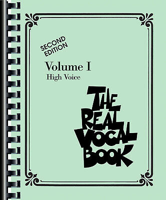 The Real Vocal Book Vol 1 High Voice C Jazz Sheet Music 300 Songs Fake Book • 24.77£