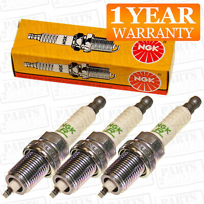 NGK 3x Ignition Spark Plug 3 Pack X3 For Daihatsu Mira 0.8 • 8.58£