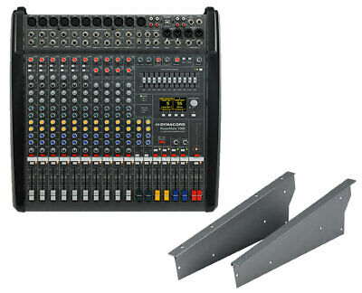 Dynacord PowerMate PM1000-3 10-Channel Compact Power Mixer + Rack Mount Kit • 2,360.58£