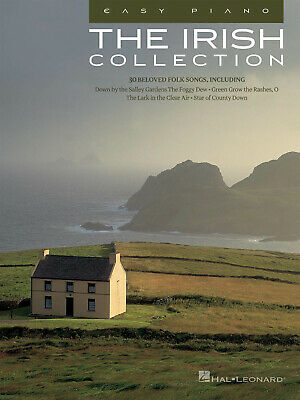The Irish Collection For Easy Piano Sheet Music 30 Folk Songs Hal Leonard Book • 9.18£