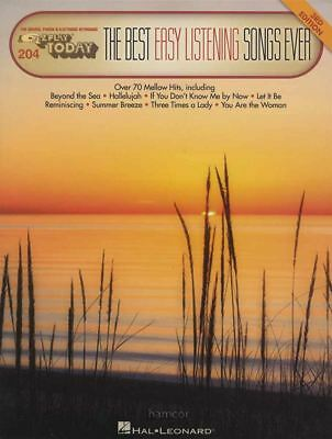 The Best Easy Listening Songs Ever Ez Play Today Organ Keyboard Sheet Music Book