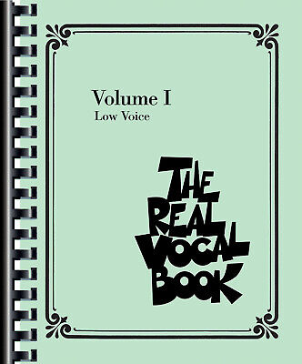 The Real Vocal Book Vol 1 I For Low Voice Jazz C Instruments 300 Songs Fake Book • 27.51£
