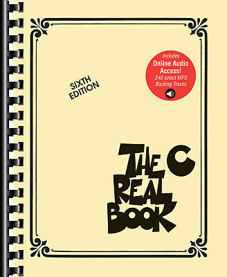 The Real Book Vol 1 6th C Instrument 400 Song Jazz Fake Sheet Music Online Audio • 53.07£