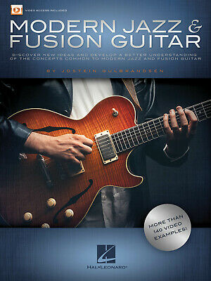 Modern Jazz & Fusion Guitar Lessons Learn To Play Tab Book 140 Video Examples • 14.81£