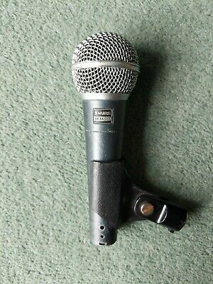 Shure Beta 58a - Dynamic Microphone - Vocals -  Supercardioid Polar Pattern • 70£