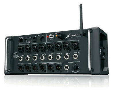 Behringer XR16 X-Air IOS Android 16 Input Portable Mixer-- • 339.49£