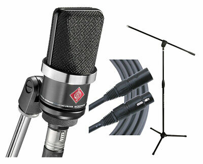 Neumann TLM102 (MB) Microphone + Ultimate MC-40B Pro Stand + Mogami Gold Cable • 564.57£