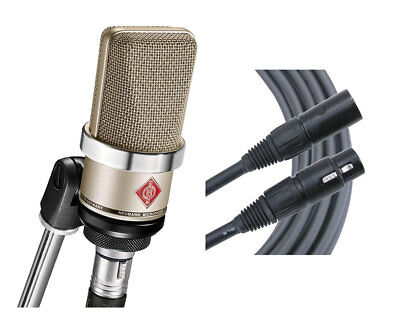 Neumann TLM102 Nickel Cardioid Condenser Microphone + Mogami Cable • 556.84£