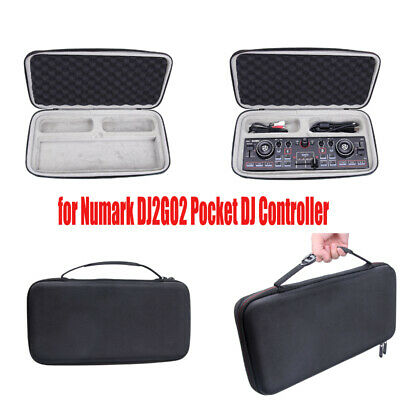 Hard EVA Case Travel Storage Bag Cover For Numark DJ2GO2 Pocket DJ Controller • 24.86£
