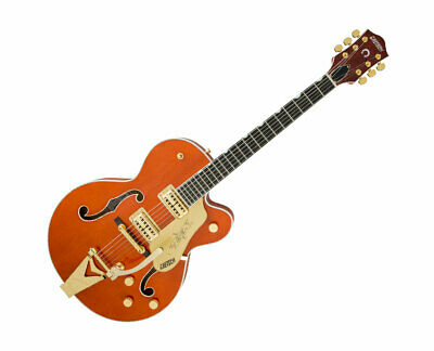 Gretsch G6120T Players Edition Nashville String-Thru Bigsby Orange Stain • 1,863.79£
