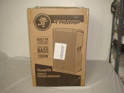 Mackie Thump 15a 1300w 15  Activer Powered Pa Dj Speaker • 217.29£