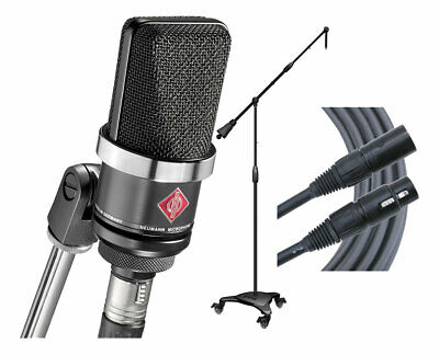 Neumann TLM102 (MB) Microphone + Ultimate MC-125 Stand + Mogami Gold Cable • 610.97£