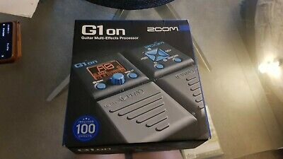 Zoom G1on Guitar Multi-Effects Processor Brand New Never Opened. • 49.99£