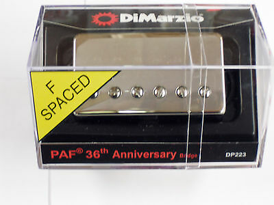 DiMarzio F-spaced  PAF 36th Anniversary Bridge Humbucker W/Nickel Cover DP 223 • 67£