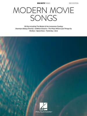 Modern Movie Songs - 3rd Edition Big-Note Piano Piano  Book Only HL00338185