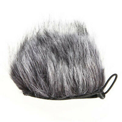 Artificial Fur Muff Microphone Wind Shield Cover Fits For Zoom H2N H4N Recorders • 3.41£