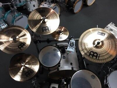 Meinl MCS 6 Piece Cymbal Pack With Free 10  Classics Splash And 14  China • 226£