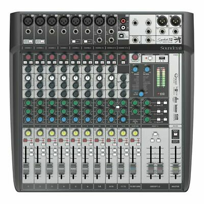 Soundcraft Signature 12 MTK Analog Mixer With Onboard Effects & Multi Channel... • 373.02£