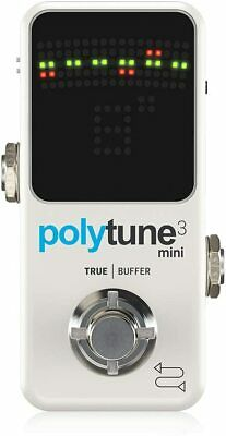 TC Electronic Polytune 3 Mini Guitar Tuner Pedal • 143.11£