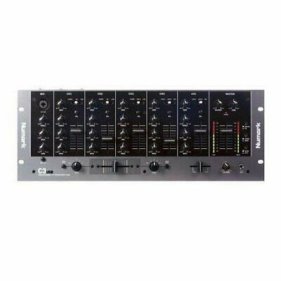 Numark C3USB - 5-Channel Mobile DJ Rack Mixer With On-Board Plug-and-Play USB • 300.77£