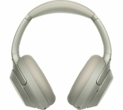 Sony WH-1000XM3 Wireless Bluetooth Noise-Cancelling Headphones - Silver • 199.99£