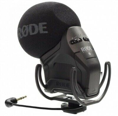 Rode Stereo Videomic Pro Rycote Microphone Micro New By The Dealer • 189.02£