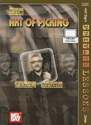 The Art of Picking Jimmy Bruno TAB Music Book & Video Learn How To Play Method