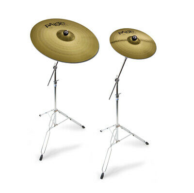 Paiste 101 Cymbals, Ride And Crash Offer With Mapex Stands • 154.99£