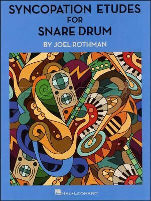 Syncopation Etudes for Snare Drum Sheet Music Book by Joel Rothman Quarter Notes