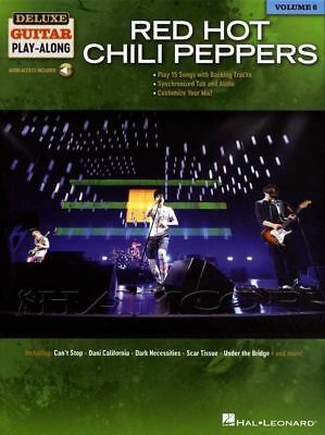 Red Hot Chili Peppers Deluxe Guitar Play-Along TAB Music Book/Audio Snow Hey Oh