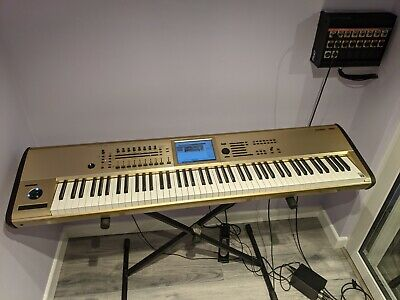 Music Instrument: 88 Key Music Workstation Korg KRONOS Limited Edition Gold MK 2 • 2,990£