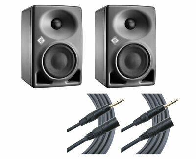 2x Neumann KH 80 KH80 DSP Active 2-Way Studio Speaker Monitor + Mogami Cables • 708.90£