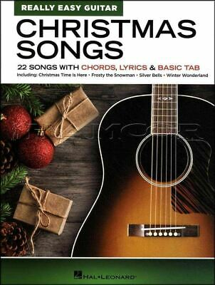 Christmas Songs for Really Easy Guitar Chord Songbook SAME DAY DISPATCH