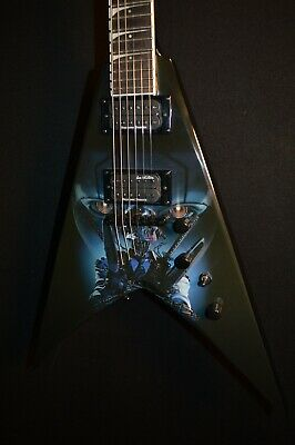 Dean Dave Mustaine VMNT Terminated V Electric Guitar W/ Hardshell Case • 502.48£