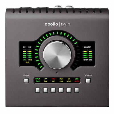 Universal Audio Apollo Twin MkII DUO | Heritage Edition Thunderbolt 3 Interface • 730.72£